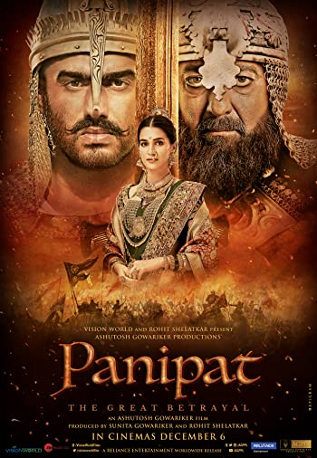Panipat 2019 Full Hindi Movie Download 1080p 2.5GB HDRip
