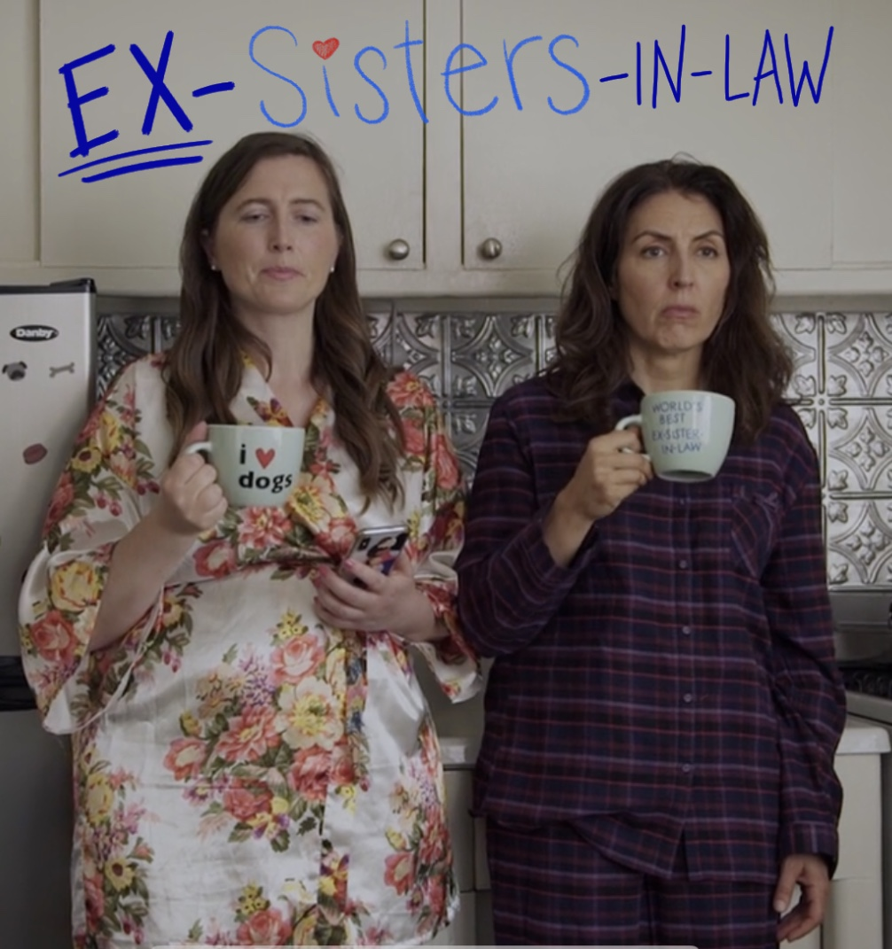 Suzan Mikiel and Allison Youngberg in EX-Sisters-in-Law (2020)