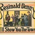 Reginald Denny, Cissy Fitzgerald, Marian Nixon, Hayden Stevenson, and Lilyan Tashman in I'll Show You the Town (1925)