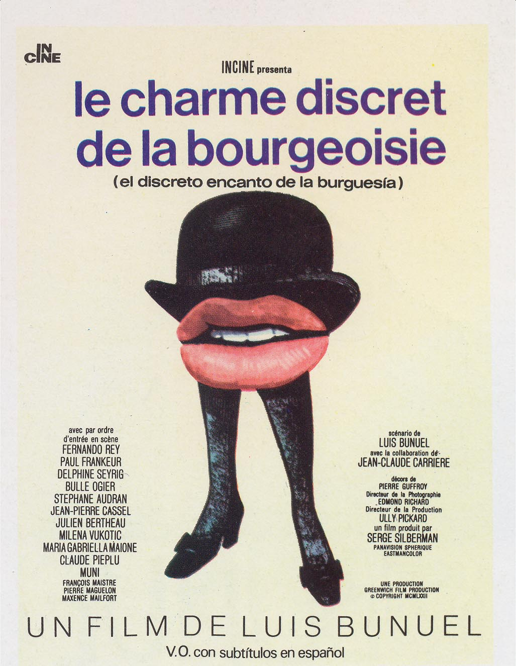 The Discreet Charm of the Bourgeoisie (1972) BluRay 720p & 1080p