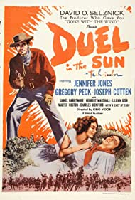 Gregory Peck and Jennifer Jones in Duel in the Sun (1946)