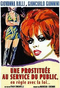 Una prostituta al servizio del pubblico e in regola con le leggi dello stato Italy