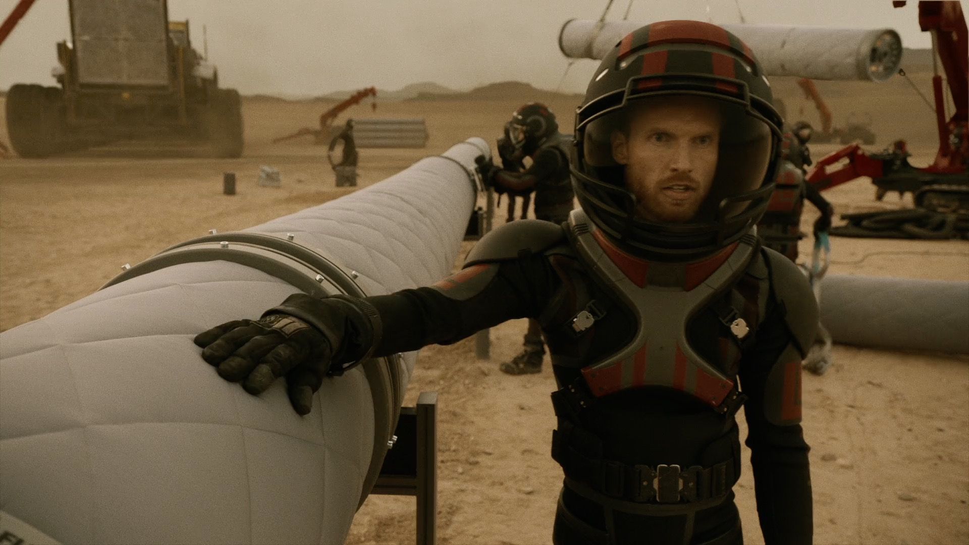 Martin Angerbauer in Mars (2016)