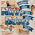 Kay Aldridge, Leslie Brooks, Georgia Carroll, Marguerite Chapman, Peggy Diggins, Jack Haley, Claire James, Jack Oakie, Martha Raye, and Ann Sheridan in Navy Blues (1941)