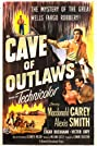 Cave of Outlaws (1951) Poster