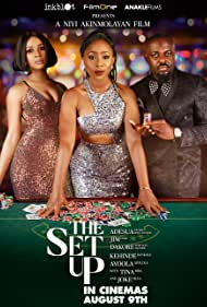 Jim Iyke, Adesua Etomi-Wellington, and Dakore Akande in The Set Up (2019)