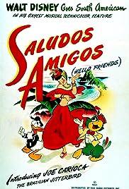 Saludos Amigos Poster