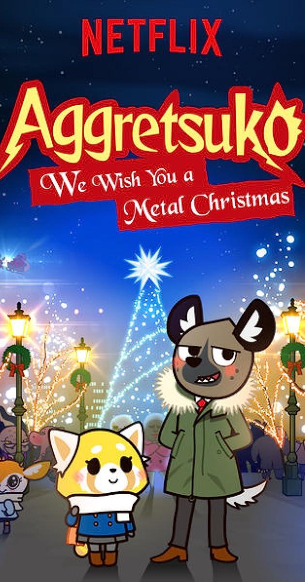 Aggretsuko Christmas.Aggretsuko We Wish You A Metal Christmas Tv Episode 2018