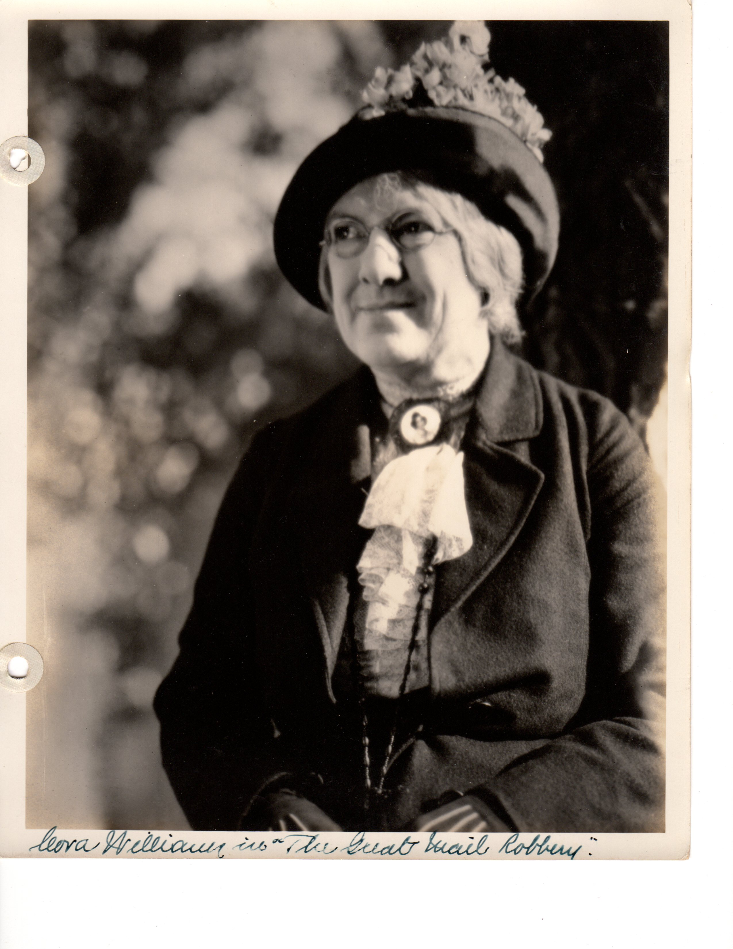 Cora Williams in The Great Mail Robbery (1927)