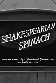 Shakespearian Spinach Poster
