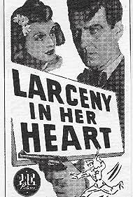 Hugh Beaumont and Cheryl Walker in Larceny in Her Heart (1946)