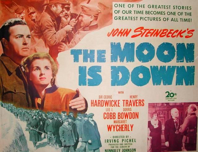 Dorris Bowdon, Henry Travers, Peter van Eyck, and Margaret Wycherly in The Moon Is Down (1943)