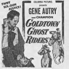 Gene Autry and Champion in Goldtown Ghost Riders (1953)