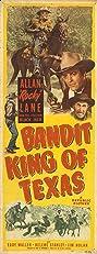 Bandit King of Texas (1949) Poster