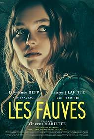 Laurent Lafitte, Camille Cottin, Baya Kasmi, Jonas Bloquet, Lily-Rose Depp, Aloïse Sauvage, and Eugène Marcuse in Les fauves (2018)