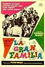 La gran familia (1962) Poster