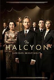 Steven Mackintosh, Kara Tointon, Olivia Williams, Matt Ryan, Jamie Blackley, Sope Dirisu, and Hermione Corfield in The Halcyon (2017)