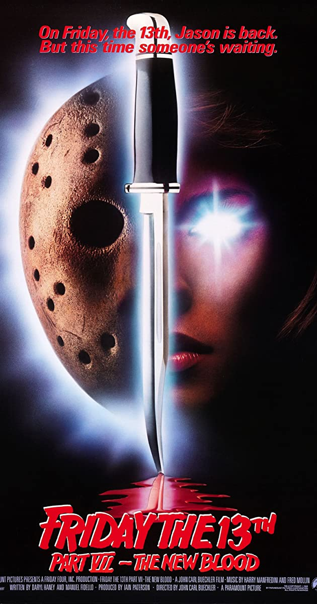 Subtitle of Friday the 13th Part VII: The New Blood