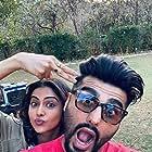 Arjun Kapoor and Rakul Preet Singh in Sardar Ka Grandson (2021)