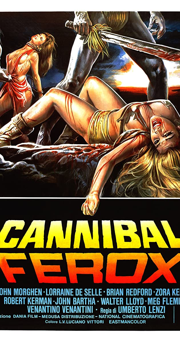 Subtitle of Cannibal Ferox