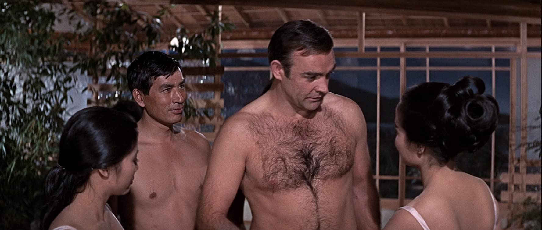 Sean Connery and Tetsurô Tanba in You Only Live Twice (1967)