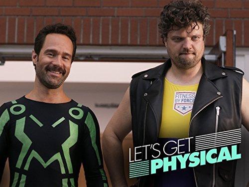 Chris Diamantopoulos and Matt Jones in Let's Get Physical (2018)