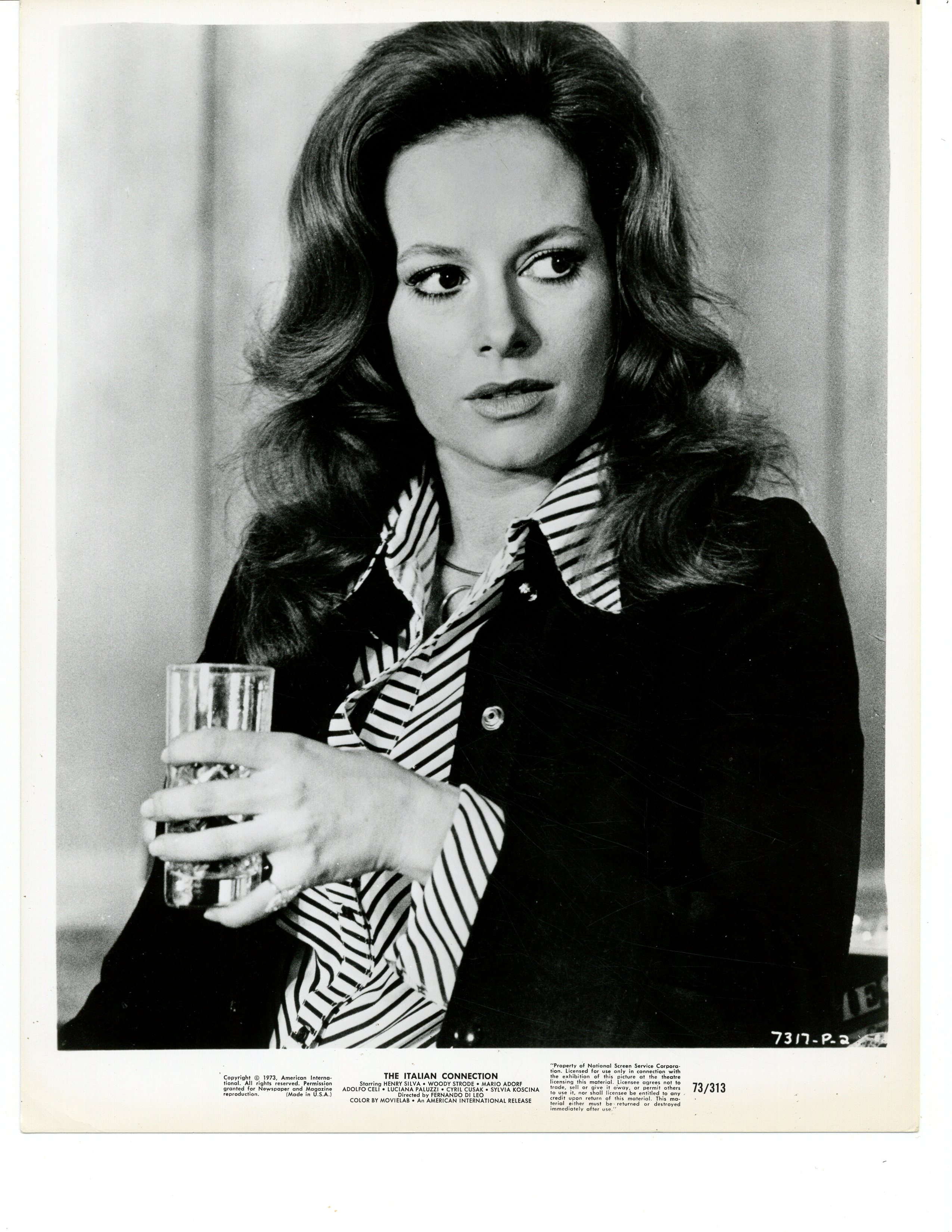 Luciana Paluzzi in La mala ordina (1972)
