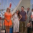 Kym Whitley, Emily Osment, Jonathan Sadowski, Bryan Safi, and Aimee Carrero in Young & Hungry (2014)