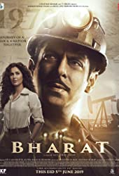 Salman Khan and Katrina Kaif in Bharat (2019)