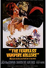 Sharon Tate and Ferdy Mayne in Dance of the Vampires (1967)