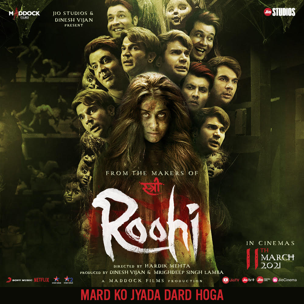 Roohi 2021 Hindi Movie 480p NF HDRip ESubs 400MB x264 AAC