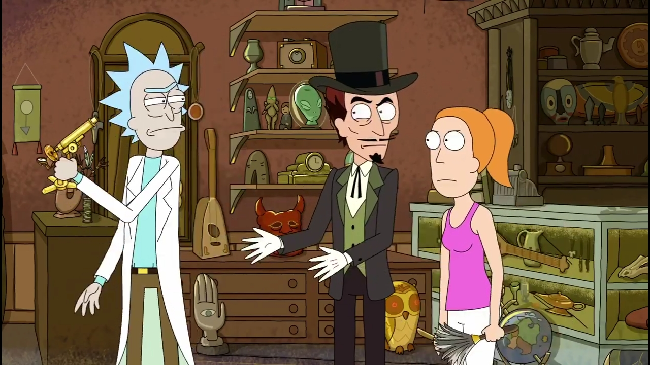 Rick And Morty Something Ricked This Way Comes Tv Episode 2014 Photo Gallery Imdb