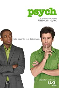 Dulé Hill and James Roday Rodriguez in Psych (2006)