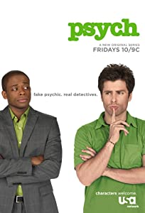 Watching action movie Psych by Steve Franks [1920x1080]