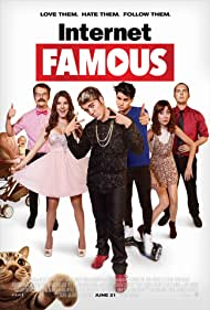 Richard Ryan, Wendy McColm, Steve Greene, Shane Dawson, Amanda Cerny, and Christian Delgrosso in Internet Famous (2016)