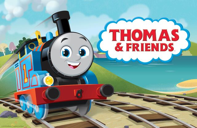 John Hasler and Joseph May in Thomas the Tank Engine & Friends (1984)