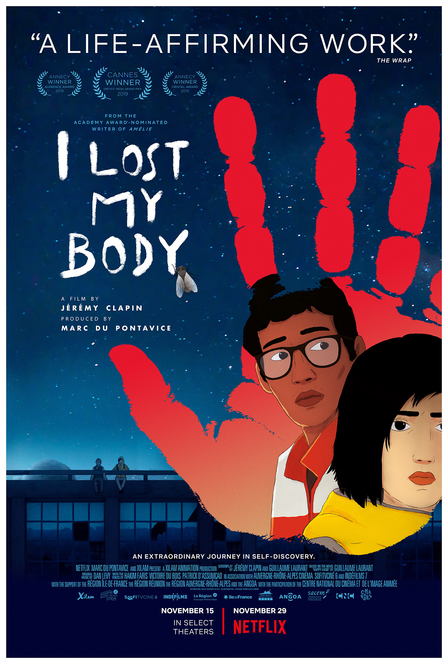 Image result for i lost my body poster
