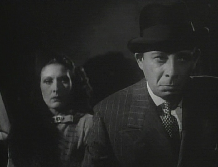 Evelyn Brent and Lucien Prival in Mr. Wong, Detective (1938)