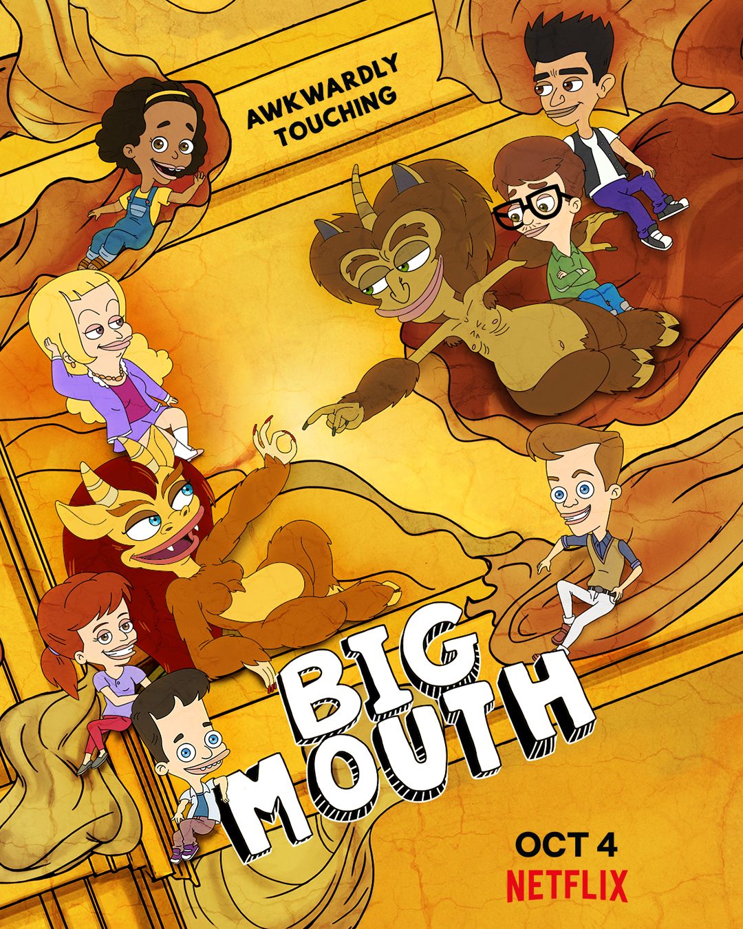 PLEPYS (2 sezonas) / Big Mouth Season 2 online