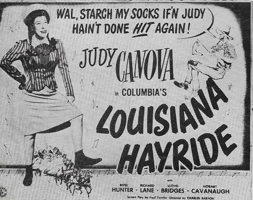Judy Canova in Louisiana Hayride (1944)