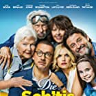 Pierre Richard, Valérie Bonneton, Dany Boon, Guy Lecluyse, Line Renaud, Laurence Arné, and Juliane Lepoureau in La ch'tite famille (2018)
