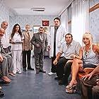 Demet Akbag, Bican Günalan, Salih Kalyon, Sener Kökkaya, Meray Ülgen, Ata Demirer, Murat Serezli, Tanju Tuncel, and Özge Borak in Eyyvah Eyvah 2 (2011)