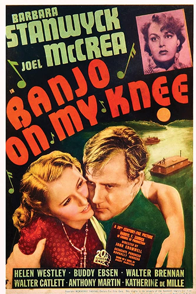 Barbara Stanwyck, Katherine DeMille, and Joel McCrea in Banjo on My Knee (1936)