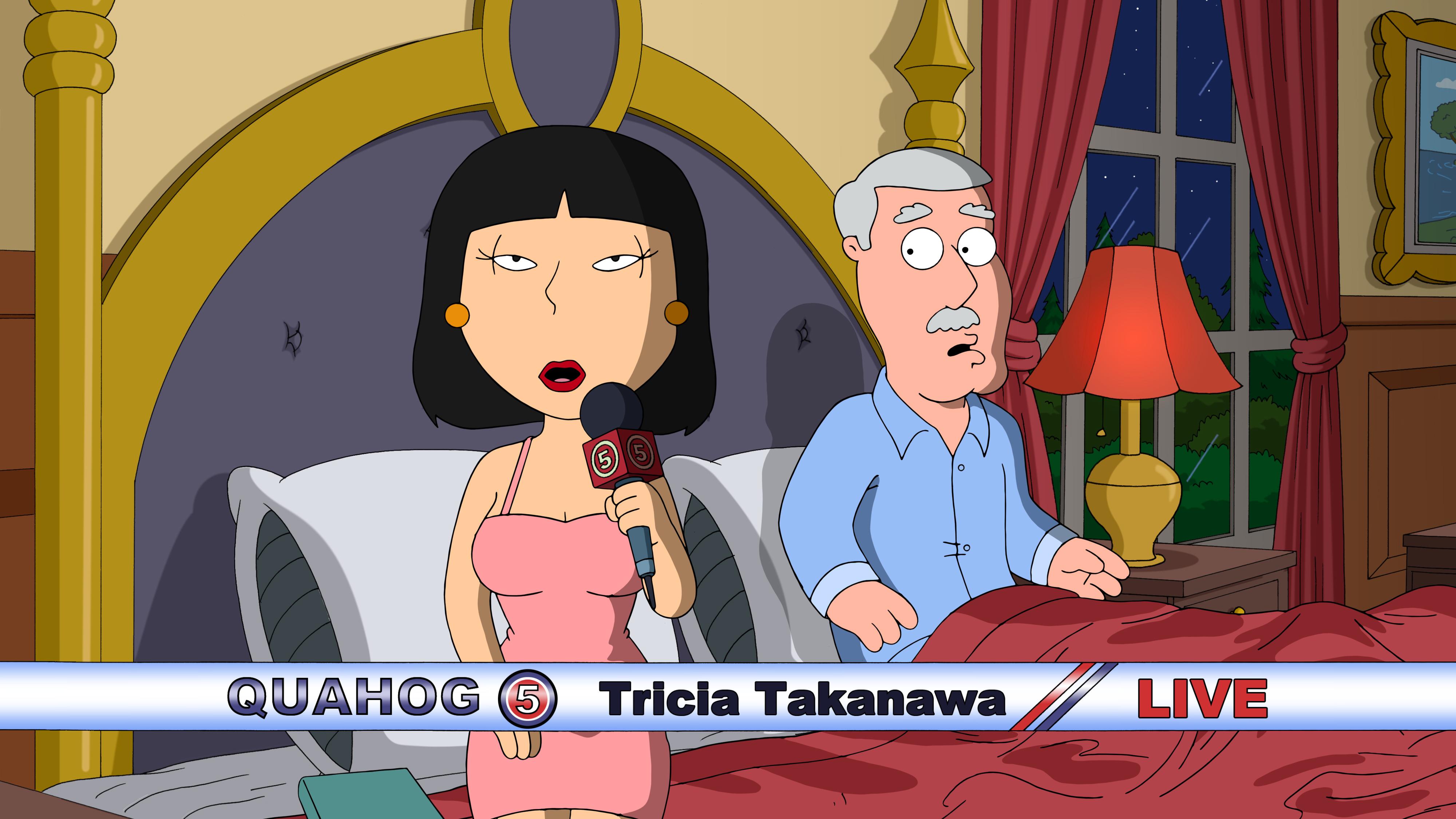 Think, asian reporter tricia takanawa