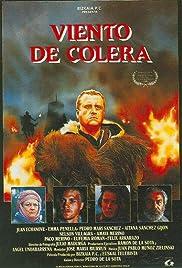 Viento de cólera Poster