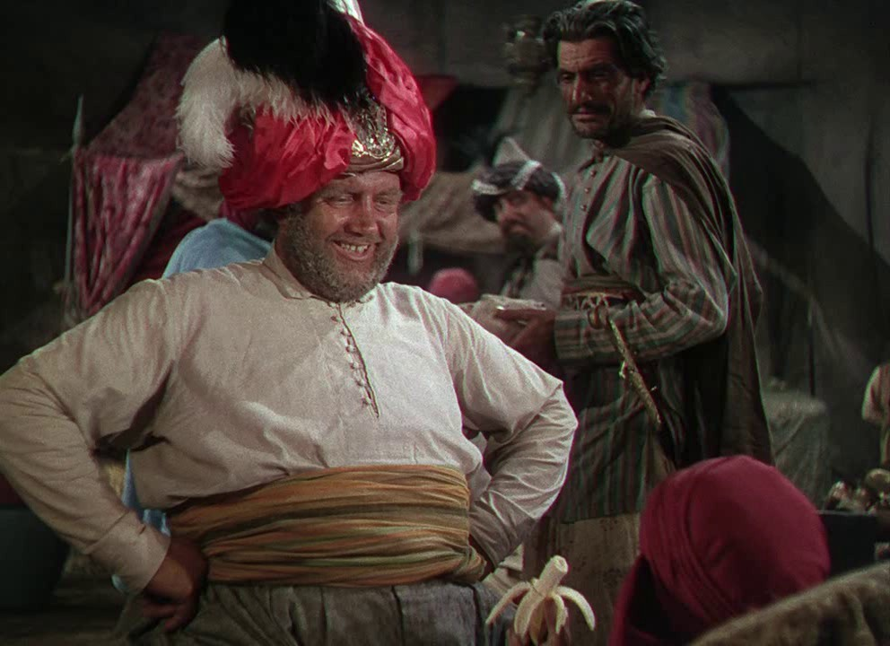 Andy Devine in Ali Baba and the Forty Thieves (1944)