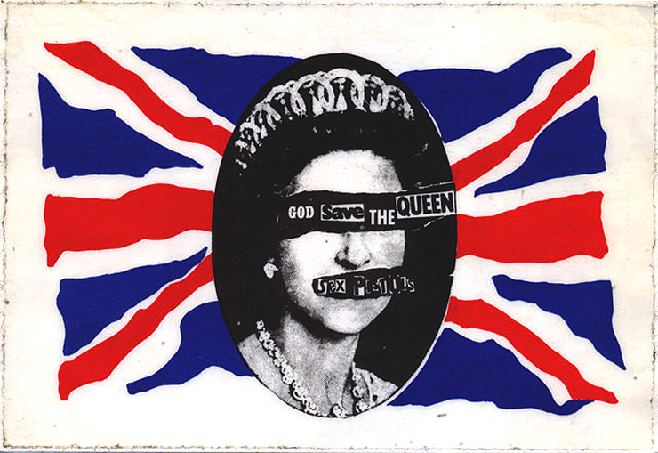 God save the queen by sex pistols