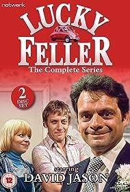 Peter Armitage, Cheryl Hall, and David Jason in Lucky Feller (1975)