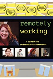 Remotely Working Poster
