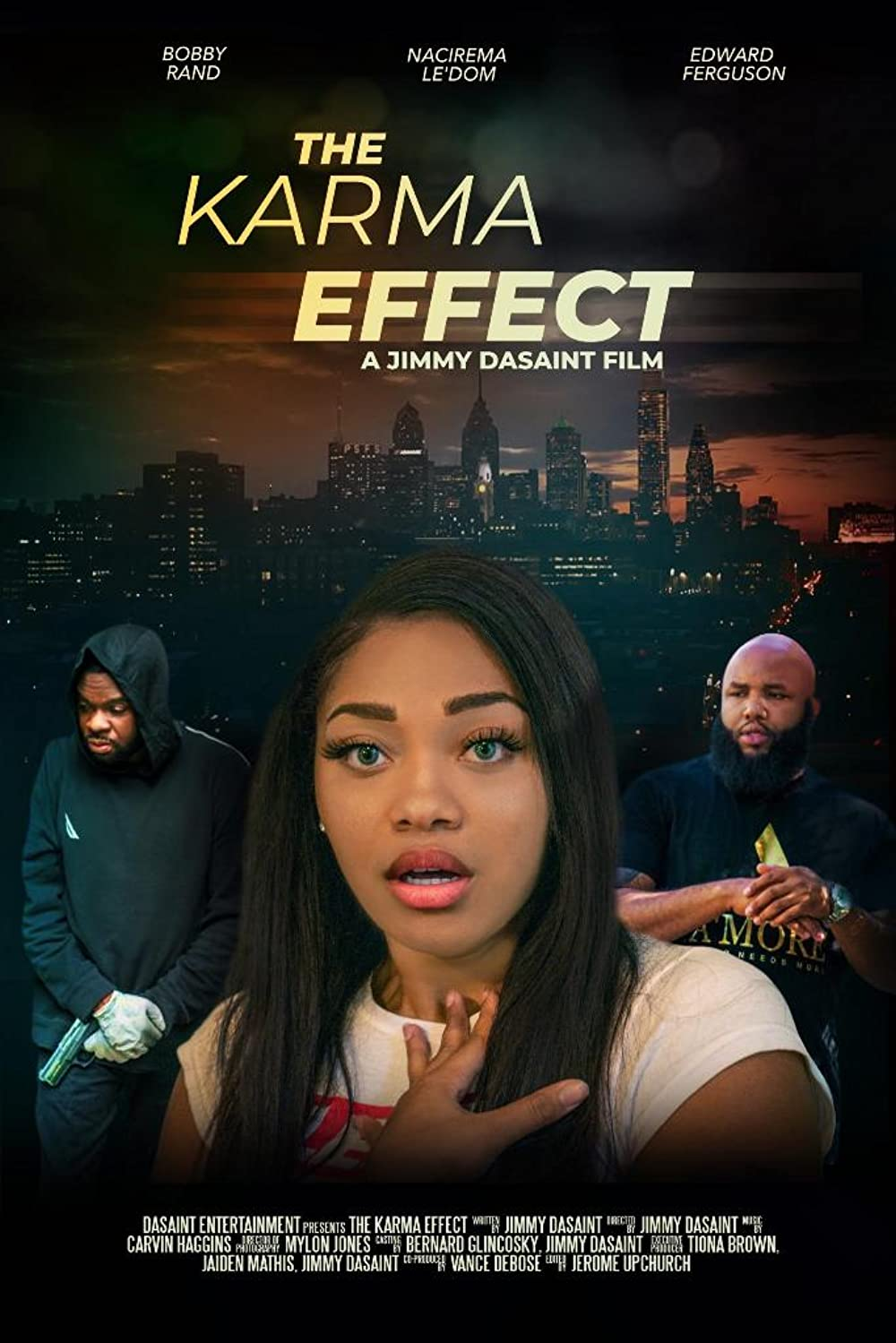 The Karma Effect 2021 English 720p HDRip 800MB Download